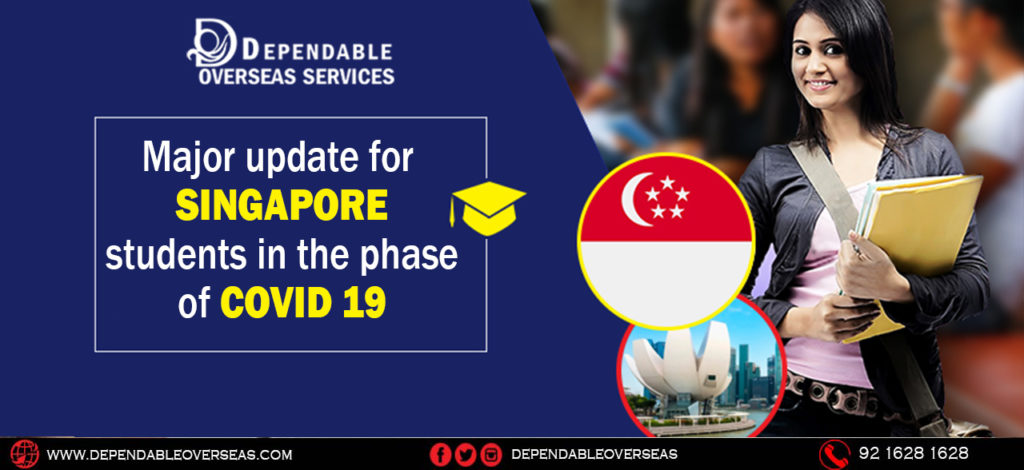 Major update for Singapore students in the phase of covid19.