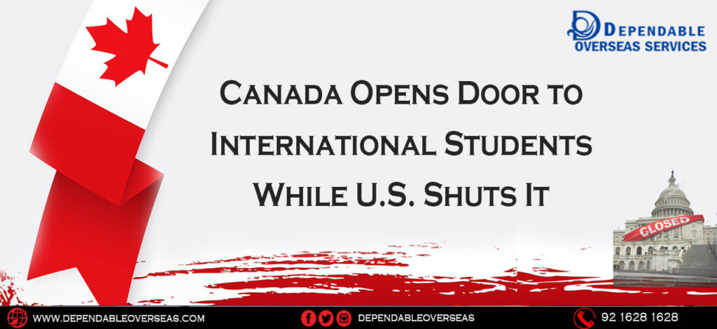 Canada Opens Door to International Students While U.S. Shuts It.