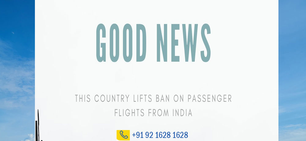 This Country Lifts Ban on Passenger Flights From India. Details Inside June-2021.
